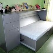 Горизонтальные откидные кровати. фото