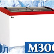 Витрины морозильные - ларь с гнутым стеклом JUKA M300S фото