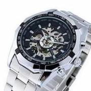 Часы Winner Luxury Silver фото