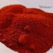 Красный железоокисный пигмент Марка К (Крым) фото
