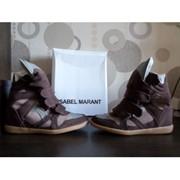 Кроссовки Isabel Marant коричневые фото