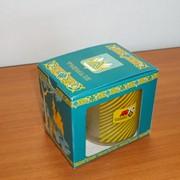 Подарочная упаковка для продукции из стекла, керамики фото