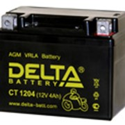 Аккумулятор Delta МОТО СТ 1204 12V 4А/ч - YT4L-B фото
