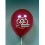 Нанесение логотипа на воздушные шары фото