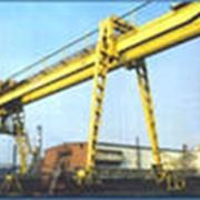 Кран козловой двухконсольный КК-16, 12,5-25-9 фото