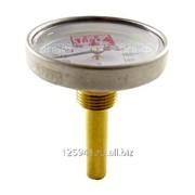 Термометр биметаллический 200°C L=60 50 фото