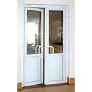 Двери и окна из ПВХ фото