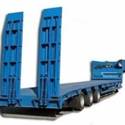 Услуги трейлеров, перевозка спецтехники до 45т фото