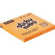 Блок-кубик Attache Selection с клеев. краем 76х76, неон, оранж. 100л фото