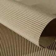 Микгогофрокартон двух слойный профиль Е, высота 1,4 мм, фото