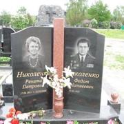 Монтаж надгробных памятников фото
