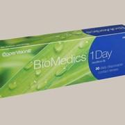 Линзы Cooper Vision Biomedics 1- Day UV сила от -6,00 до -0,50 Радиус 8,7 фото