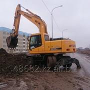 Эксковатор Hyundai сдам в аренду Алматы фото