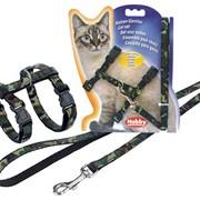 Ошейники, поводки для кошек. фото