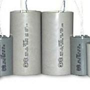Конденсатор электрический 2-х полюсный, для запуска компрессора кондиционера фото
