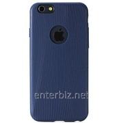 Чехол Rock for iPhone 6 TPU Melody Series case Blue, код 72914 фото