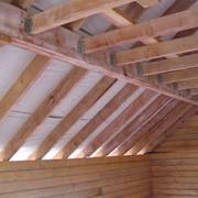 Огнезащитная обработка деревянных конструкций фото