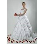 Платья свадебные шелковые фото