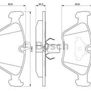 Тормозная колодка Bosch 0 986 424 485 фото