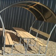 Беседка металлическая Солнечная-Классик фото