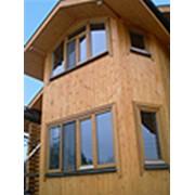Малоэтажные дома из дерева фото