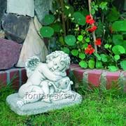 Садовая фигура Амур фото