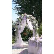 Оформление свадебных арок фото