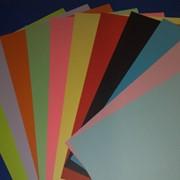 Бумага цветная А4 mix фото