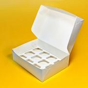 Упаковка-короба для капкейков от 1 до 12шт.