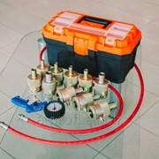 Оборудование для автосервиса, набор 10 насадок для ремонта амортизаторов фото