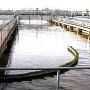 Очистка сточных вод, биологическая очистка сточных вод, Крым, Украина. фото