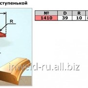 Код товара: 1410. (D39 R10) Фреза галтельная со ступенькой ( фреза радиусная, кромочная калевочная) фото