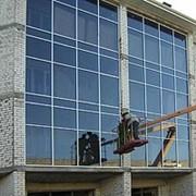 Проектирование, изготовление, стеклянных конструкций фото