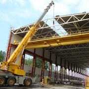 Монтаж мостового крана. фото