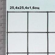 Сетка сварная оцинкованная 25,4*25,4*1,6 мм (цинка до 50 г/м2) Для изготовления сеток для кроликов фото