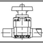 Мембранный клапан AGRU PVDF (ПВДФ) d 20-110 мм фото