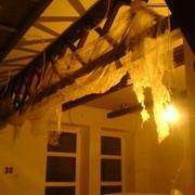 Балки и декорации потолка фото