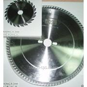 Комплект пильных дисков для форматно-раскроечного станка фото