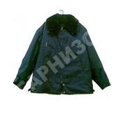 Куртка лётная меховая синего цвета