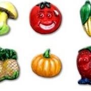 Набор для детского творчества из гипса Злата Плоды природы фото