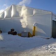 Складской тент Storage tent H-Line 25м h420 фото