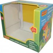 Картонные коробки для детских игрушек фото