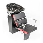Мойка парикмахерская СИБИРЬ с креслом ЛИГА с глубокой раковиной фото