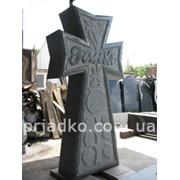 Ритуальные кресты, крест на кладбище фото