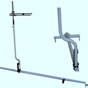 Устройство для измерения высоты автосцепки УВА-Ч-920-1090 фото