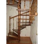 Деревянные винтовые лестницы фото