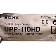 Бумага для термовидеопринтера Sony UPP-110 НD 110ммх20м TYPE-II фото