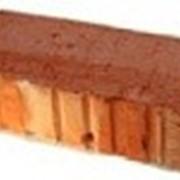 Кирпич строительный полнотелый одинарный фото