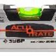 """Уровень ЗУБР """"ACURATE 5"""" коробчатый усиленный, утолщ особопроч профиль из авиац алюминия,2фрезер баз поверхности,60см. Артикул: 34596-060 фото"""