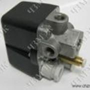 Реле давления (прессостат) MDR 2, МДР 2 однофазное c пневморазгрузкой с кнопкой фото